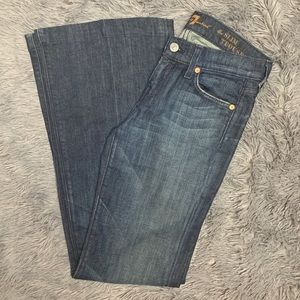 7 For All Mankind - Slim Trouser Jean - Size 25